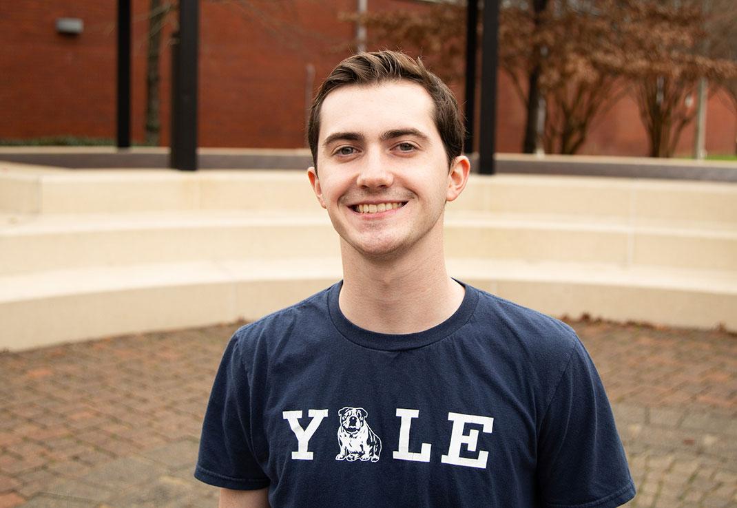 Alex Jackson from Yale University