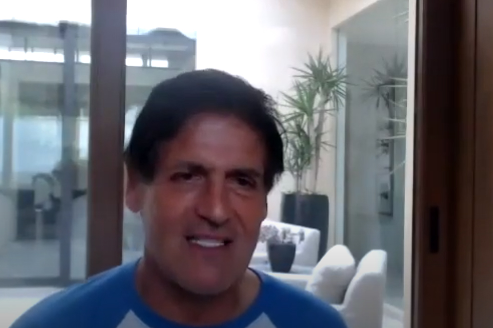 Mark Cuban joined GTP's Advanced STEM Preparatory Program: Summer Dinner Series