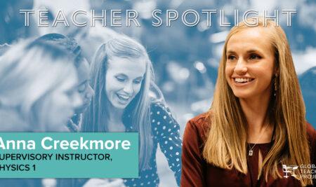 Teacher Spotlight: Anna Creekmore